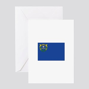 Flag of Nevada Greeting Card